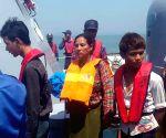 MYANMAR RAKHINE VESSEL SINKAGE RESCUE