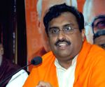 Congress, AIUDF have 'unholy nexus' in Assam: Ram Madhav