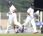 Ranchi Test: Centurion Rohit & Rahane pile agony on SA (Tea)