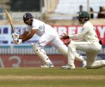 Batting on 95,  Rohit Sharma shouted 'not now' as rain threat loomed