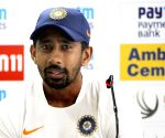 Will try to make it 3-0 this time: Wriddhiman Saha