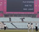 Ranji Trophy - Bengal Vs Andhra - Match stopped due to bad light