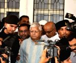 Lalu arrives to appear before CBI Court