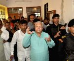 Lalu appears before CBI Court