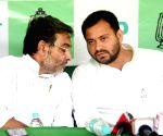 Mahagathbandhan' parties' press conference