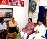 Upendra Kushwaha meets CPI-ML leaders