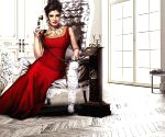 Free Photo: Raveena Tandon: Missing a bit of the red lipstick action