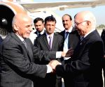 Rawalpindi (Pakistan): Afghan President Ashraf Ghani arrived in Pakistan