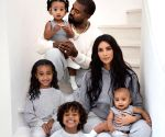 Free Photo: Kim accused of photoshopping kids in family Christmas card