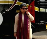 Reena Dutta, ex-wife of Aamir Khan seen at Mehboob Studio