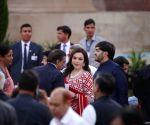 PM Modi's oath-taking ceremony - Mukesh Ambani, Nita Ambani, Anant Ambani