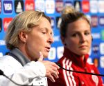 FRANCE-RENNES-2019 FIFA WOMEN'S WORLD CUP-GERMANY-PRESS CONFERENCE