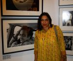"Nemai Ghosh exhibiting his work ""Satyajit Ray and Beyond"