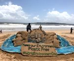 Sudarshan Pattnaik's creation on the eve of World Environment Day