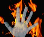 Mentally challenged murderer burnt alive in Bihar