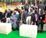 India Africa Friendship Rose Garden - inauguration
