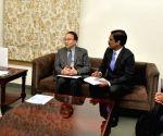 New Development Bank representatives meet Y. S. Jagan Mohan Reddy