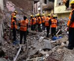 Five-storied building collapses in Delhi