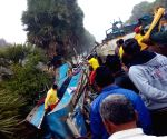 Two killed as bus overturns in Odisha