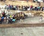 UP bridge collapse kills 2, rescue operations underway