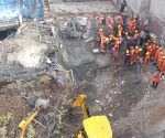 Rescue operations underway at Gurugram building collapse site