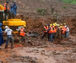 Rescue operation at Pune landslide site