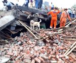 Five-storied building collapses in UP