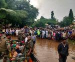 Rescue operations underway in flood hit areas of Karnataka
