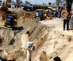 Infant trapped in Punjab borewell, rescue operations on