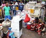 Residents evacuate Bowbazar