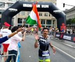 59-yr-old retired general breaks own record at Ironman triathon