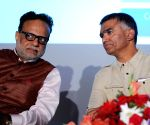 Hasmukh Adhia during a GST forum meeting