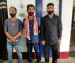 Free Photo: Rhino poachers and horn traders held, arms recovered in Assam
