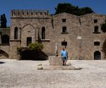 Palace of the Grand Masters in Medieval City of Rhodes in Rhodes, Greece