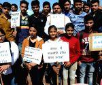 Protest against attack on Swaymsevaks in Kerala
