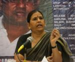 Sudha Bharadwaj's press conference