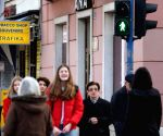 CROATIA-RIJEKA-WOMEN'S TRAFFIC LIGHT