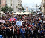 Croatia Rijeka Shipyard Strike