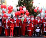 CROATIA-REJEKA-SANTA CLAUS RACE
