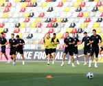 CROATIA RIJEKA SOCCER FIFA WORLD CUP TRAINING