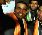 Rio bound Indian Olympic men's hockey contingent