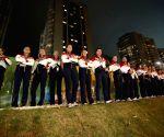 BRAZIL-RIO DE JANEIRO-OLYMPICS-FLAG RAISING CEREMONY-RUSSIA