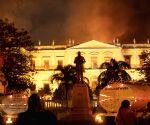 BRAZIL RIO DE JANEIRO MUSEUM FIRE