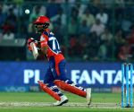 Rishabh Pant of Delhi Daredevils in action