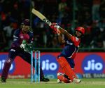 Rishabh Pant of the Delhi Daredevils in action