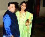 File Photo: Rishi Kapoor and his wife Neetu Kapoor