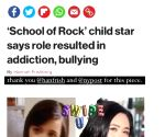 'School Of Rock' star Rivkah Reyes faced bullying after film's success