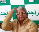 RJD chief Lalu's press conference
