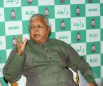 Lalu Yadav's press conference