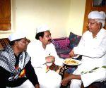 Lalu Prasad Yadav celebrates Eid-ul-Fitr at Musallahpur Haat